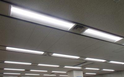 磐田信用金庫計算センターLED照明リニューアル